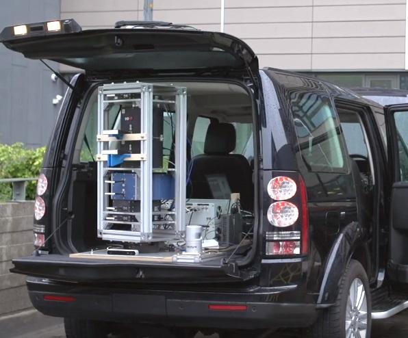 300 GHz radar for experiments with autonomous vechicles