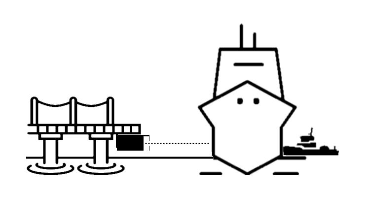 78 GHz docking aid assistance diagram
