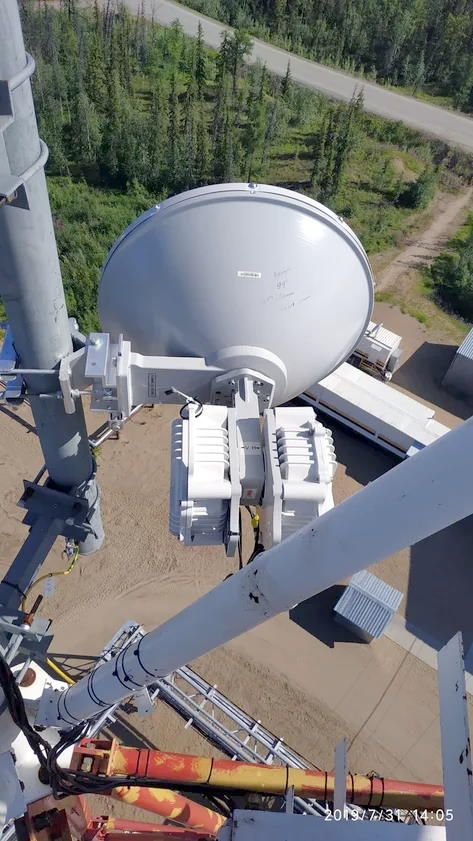 40 Gbps wireless on pair of PPC-10G-E/2+0 20Gbps radio in Siberia