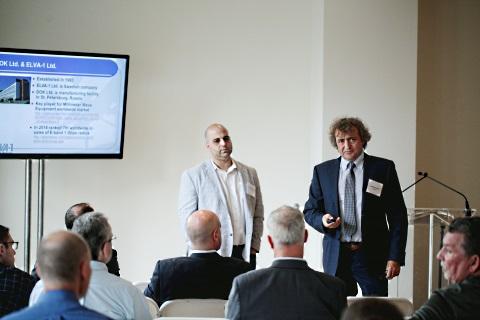 Presentation of 20 Gbps radio ELVA