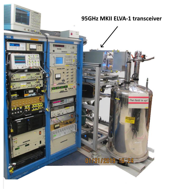 The ACERT high power (1.2kW) 95GHz broadband spectrometer is currently the only system available to the scientific community allowing for 2D ELDOR studies