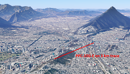 ELVA PPC-10G-E 10 Gbps Link in Monterrey, Mexico