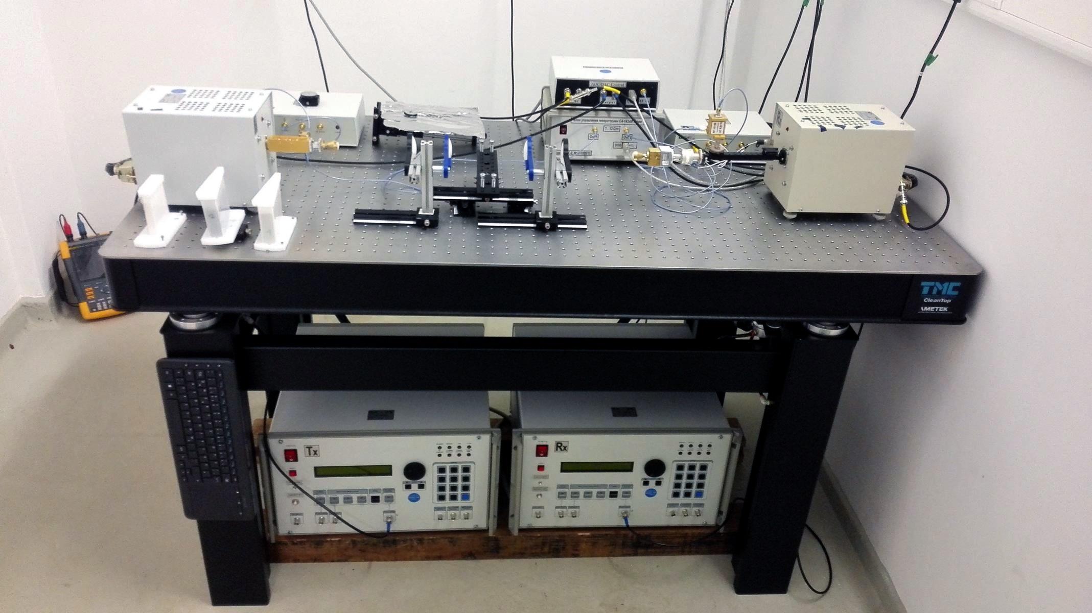 ATB's 258GHz - 375GHz Analyzer for Soil Probe
