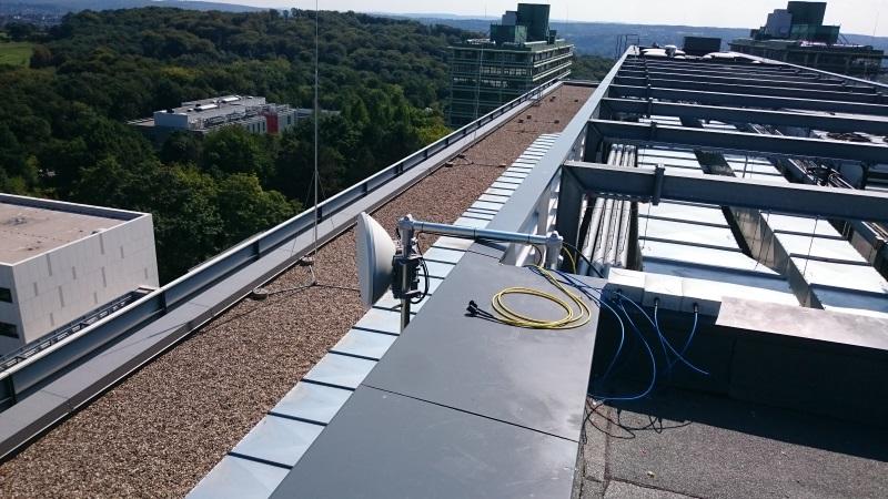 ELVA 10 Gbps Link in RUB Uni (Germany)