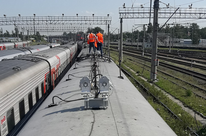 ELVA-1 PPC-10G E-band solution for train-to-ground connectivity