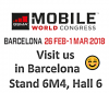 Welcome to ELVA-1 Stand at Mobile World Congress 2018