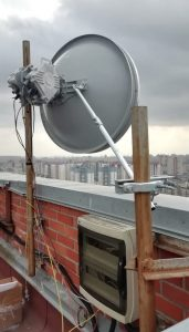 Q-band (40.5-43.5 GHz) wireless link PPC-10G-Q-3ft/2+0 (2x5 Gbps)with 3ft antenna